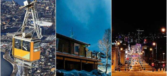 Skandynawia Norwegia: Oslo, Bergen, Tromso (z lewej)