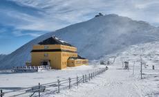 Widok na Śnieżkę – najwyższy szczyt Karkonoszy