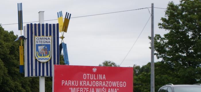 W drodze na prom Mikoszewo - Świbno.